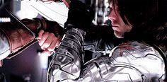 Does anyone else notice the little grin Winter Soldier/Bucky does there at the end? He's enjoying this fight.