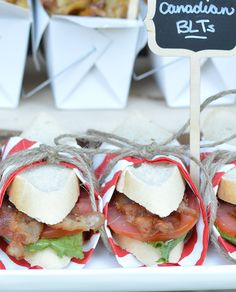 Canadian BLTs Canada Day Party, Canadian Food, Newfoundland, Taste Buds, Food Network Recipes, Tapas, Vip, Mountain, Snacks