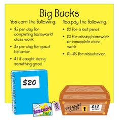 Big Bucks | Teacher Tip | The Mailbox  Behavior