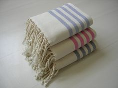 Organic bath towels, Organic beach towels, Organic hammam towels, Turkish cotton towels