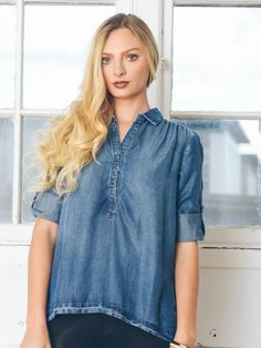 Perfect Chambray Henley
