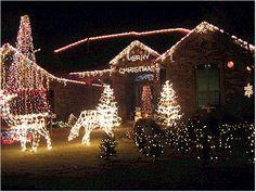 Christmas Lights to Music Christmas Lights To Music, Christmas Light Displays, Winter, Noel, Winter Time, Winter Fashion