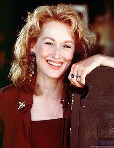 """Meryl Streep-My favorite contemporary actress. My favorite film is """"Sophie's Choice."""""""