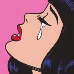 Tears for him …