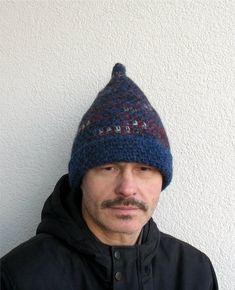 Wheat Field Tweed Crocheted Handmade Men Small  Hat