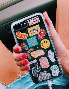 Vsco - mscotty - collection etui telephone, phone stickers, new phones, diy phone Diy Iphone Case, Iphone Plus, Iphone Phone Cases, Phone Covers, Cellphone Case, Black Iphone 7 Plus, Tumblr Phone Case, Girl Phone Cases, Cute Phone Cases