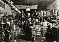 Taylor Hardware in Henrietta, Texas. Circa 1906. Incredibly detailed!