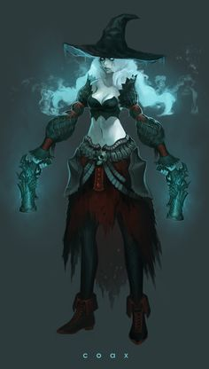 """Ghost Miss Fortune concept from """"League of Legends"""" by Kim Jung Hee (coax)"""