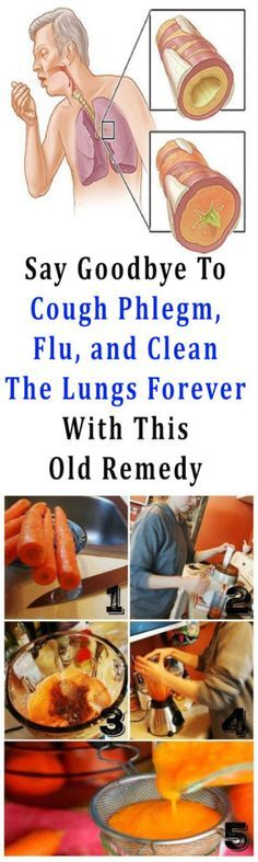 Say Goodbye To Cough Phlegm, Flu, and Clean The Lungs Forever With This Old Remedy #health #fitness #beauty #remedy #flu