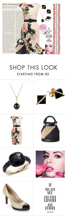"""Turns out woman is God's gift to man! Genesis 2:22"" by grownuppaperdolls ❤ liked on Polyvore featuring David Yurman, Madyha Farooqui, Phase Eight, Sonia Rykiel, Pomellato, Maybelline, Elie Tahari and Chanel"