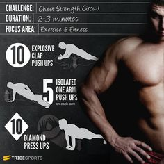 Boost your chest strength with this workout! via @Tribesports