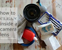 extend the life of your camera lens by cleaning them from the inside