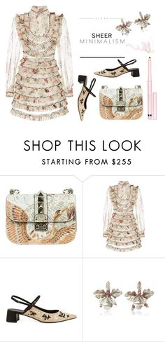 """""""Prints"""" by erindream ❤ liked on Polyvore featuring Valentino, Zimmermann, Erdem, Rodarte and AERIN"""