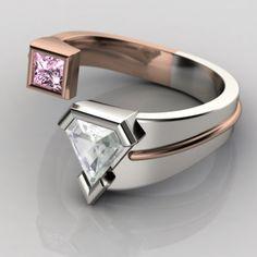 Custom Superman Anniversary Ring.
