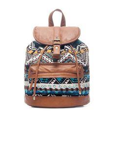 Mochila mona para cuando quiero llevar demasiadas cosas en el bolso :)