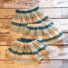 Winter skirts featuring Fair Isle fabric by @nolafionnah