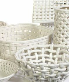 more Pols Potten ceramic baskets