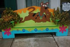 Scooby Doo --this is a cool idea! Backyard For Kids, Backyard Projects, Cool Diy Projects, Scooby Doo Images, Cartoon Tv Shows, Arts And Crafts, Diy Crafts, Kid Spaces, My Animal