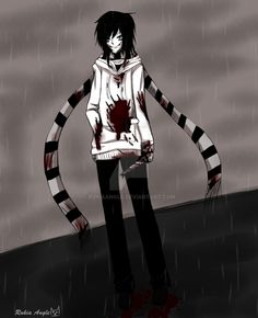 It looks like a combination of laughing jack Slenderman and jeff the killer Jeff The Killer, Cartoon Theories, Dont Hug Me, Eyeless Jack, Laughing Jack, Fan Anime, Creepypasta Characters, Dhmis, Smiling Dogs