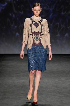 Vivienne Tam Fall 2014 Ready-to-Wear Collection Slideshow on Style.com
