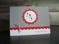 Dog Birthday Card Dalmatian