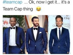 Is that the same suit? Do they just pass it around sisterhood-of-the-travelling-style? Captain America-hood of the travelling suit