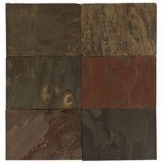 Multicolor Slate Tile at #FloorandDecor