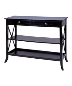 This Three-Tier Console Table is perfect! #zulilyfinds