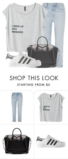 """""""Outfit #1364"""" by sofiaabaarona1998 on Polyvore featuring moda, Madewell, Givenchy y adidas"""