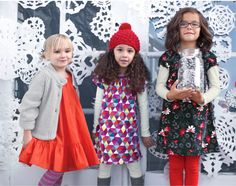 The @Tea Collection holiday girl's dresses -- killing us with cuteness!