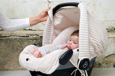Koeka Waffel-Sonnendach für Babyschale 'Anwerp' grau - im Fantasyroom Shop…
