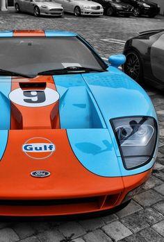 Ford GT...Gulf Racing