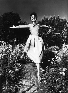 Audrey Hepburn Fresh air, space, sunshine and the rustle of leaves or grass in the breeze!