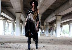 WOOL DRESS | Madame de Rosa