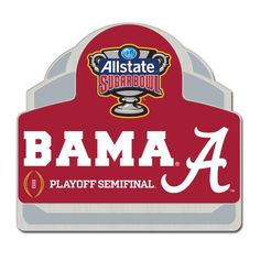 Alabama Crimson Tide WinCraft 2015 College Football Playoff Sugar Bowl Bound Collector Pin