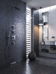 shower area with no visible drain
