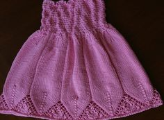 This would make a cute skirt instead of dress...Free+Knitting+Pattern+-+Toddler+&+Children's+Clothes:+Flora+Dress