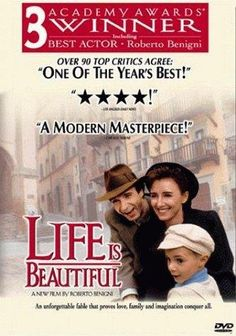Life Is Beautiful -- An inspired motion-picture masterpiece, LIFE IS BEAUTIFUL was nominated in 1998 for 7 Academy Awards - winning 3 Oscars, including one for Best Actor Roberto Benigni.