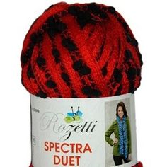 NobleKnits Yarn Shop  - Rozetti Spectra Duet Ruffle Yarn, $12.79 (http://www.nobleknits.com/rozetti-spectra-duet-ruffle-yarn/)