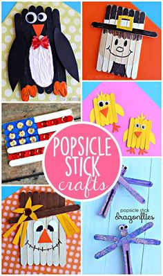 Clever Popsicle Stick Crafts for Kids to Create | CraftyMorning.com