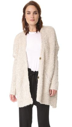 Free People Boucle Cadi Sweater from Shopbop