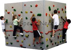 freestanding 360 rock wall, god i wish! i would never get my son off that. $7,023!