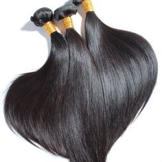 Brazilian Straight 3 Bundles @ Hairnparis.com 1800-496-4322 Sales@hairnparis.com #Weave #Hair #BrazilianHair