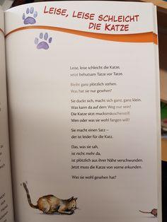 Leise,Leise schleicht die Katze #krippe #kita #kindergarten #erzieher #reim #gedicht