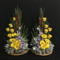 Blumen gestecke Picture outcome for DIY altar flowers Including Private Touches to Your Marriage cer Altar Flowers, Church Flowers, Funeral Flowers, Dried Flowers, Flower Vases, Modern Flower Arrangements, Flower Arrangement Designs, Fall Arrangements, Deco Floral