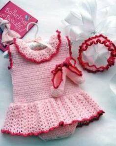 Crochet Stitches Baby Frock : ... Pinterest Crochet Baby Dresses, Baby Dresses and Baby Dress Patterns
