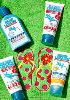 Blue Lizard - safe sunscreen for babies and all ages
