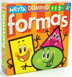 Dominó Formas ¡Diversión y aprendizaje garantizados! #juegosmetta