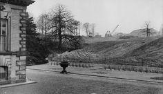 The Fitzwilliam family owed much of its fortune to the coal beneath the house and, during the post-War period, much of the estate was used for open-cast mining, which came right up to the edge of the main lawn