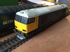 60 xxx partially painted into LLB livery by Lima Acquired evilBay on 21/03/16  Arrived 01/04/03, terrible postal service.